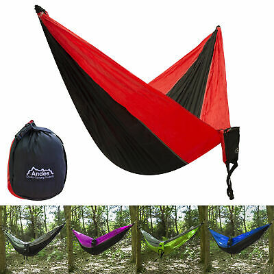 Andes Outdoor Lightweight Portable Camping Hammock Backpacking Hiking