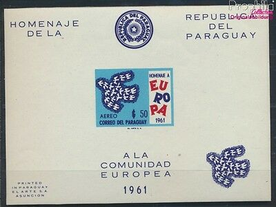 Paraguay block17 unmounted mint / never hinged 1961 Europe (7188903