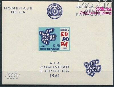 Paraguay block17 unmounted mint / never hinged 1961 Europe (8940424