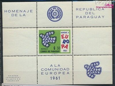 Paraguay block15 unmounted mint / never hinged 1961 Europe (7188905