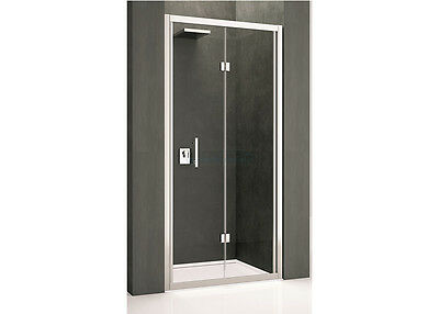 Novellini Kali Bifold Shower Door Enclosure With Optional Side Panels All Sizes