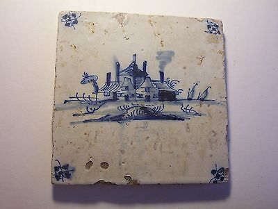 Delft Tile c. 18th  century   (23)