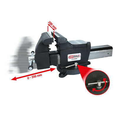 KS TOOLS Parallel-Schraubstock, 8 914.0008