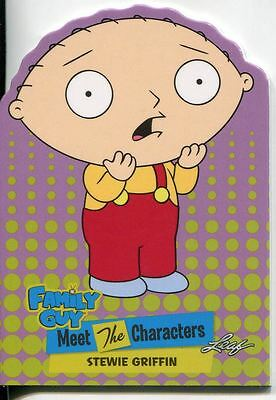 4 /& 5 Quotable Metal Chase Card Q19 Family Guy Seasons 3