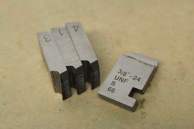 "Alfred Herbert 1/2"" x 20 Tpi UNF Coventry Die Chasers For 1"" Head CD276"