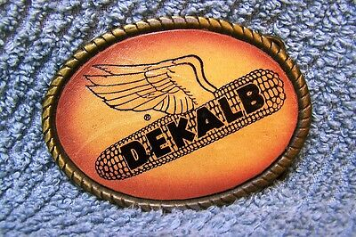 Dekalb Leather Face Belt Buckle