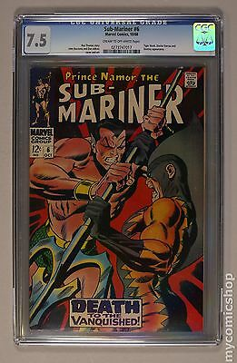 Sub-Mariner (1968 1st Series) #6 CGC 7.5 0273747017