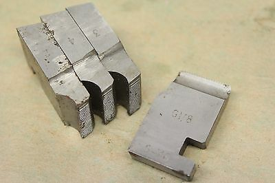 "Alfred Herbert 1/8"" x 28 Tpi BSP Coventry Die Chasers For 1"" Head CD298"