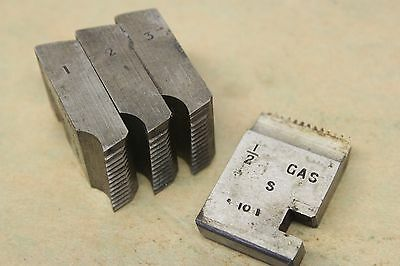 """Alfred Herbert 1/2"""" x 14 Tpi BSP Coventry Die Chasers For 1 1/4"""" Head CD304"""