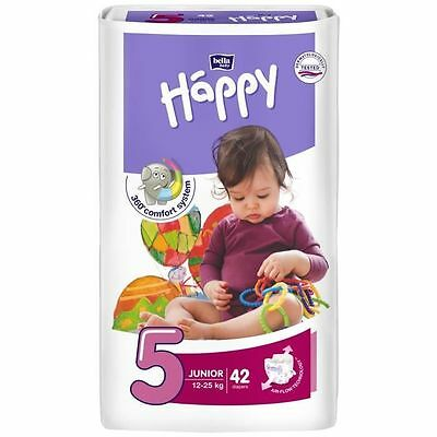 HAPPY 42 Couches Taille 5 de 12 a 25 kg NEUF