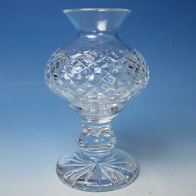 Waterford Crystal - Alana Pattern - Hurricane Votive Candle Holder Fairy Lamp