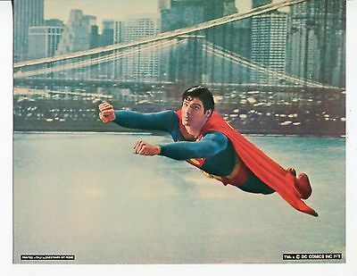 Superman-Christopher Reeve-8x10-Color-Still