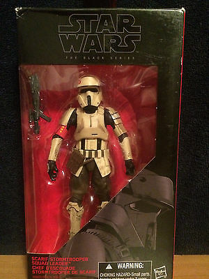 "Star Wars the Black Series Rouge One Scarif Stormtrooper 6"" Figure - NEW"