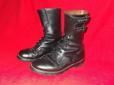 France - French leather combat boots, double buckle rangers, foreign legion