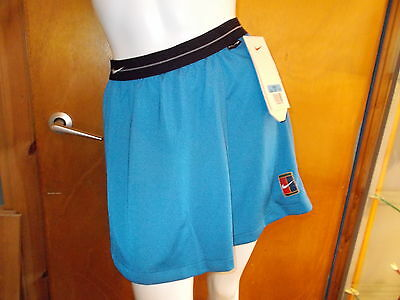 "Nike 'Dri-Fit' Elasticated Waist Skirt M UK 12-14 W30"" Blue Mix BNWT"