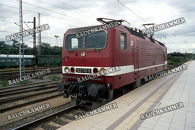 DR 143 172-5  Magdeburg 1993 / org. Dia + Datei!  146#16