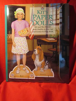 The American Girl Collection Paper Dolls  Kit Uncut