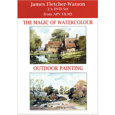 DVD Twin Pack: The Magic of Watercolour and Outdoor Painting James Fletcher-