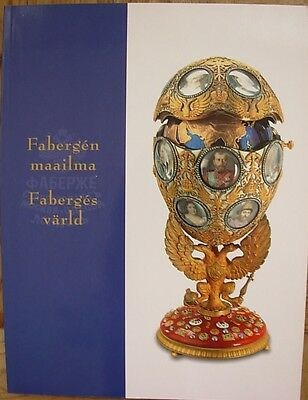 Faberge Russian Art egg jewelry icon gold diamond Catalogue of exhibition 1999