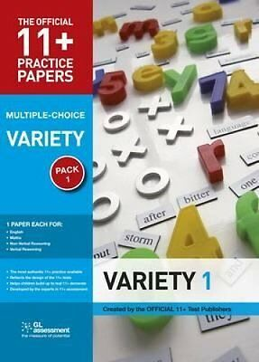 11+ Practice Papers, Variety Pack 1, Multiple Choice English Te... 9780708703908