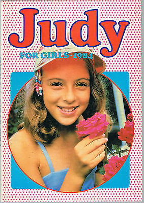 Vintage 1984 Judy For Girls Annual: Excellent Condition