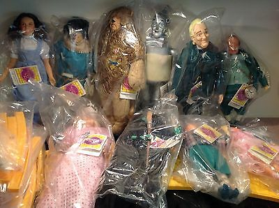 Wizard of Oz Dolls By Presents A Division Of Hamilton Gifts 1988 Set of 10+ ROAD