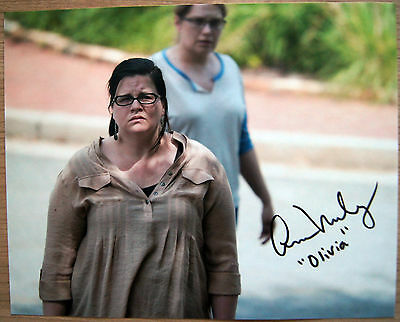 Autogramm 20x25cm ANN MAHONEY (The Walking Dead) *handsigniert* COA