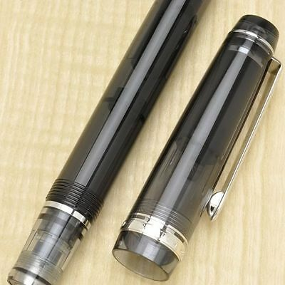 Medium Fine nib: Pilot NAMIKI Custom Heritage 92 Fountain Pen Demonstrator Black