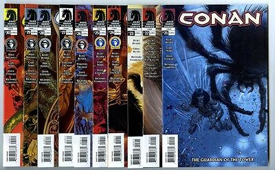 Conan (2004) #21-30 Set Avg NM Dark Horse Comics