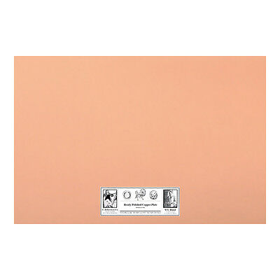 Roberson : Polished Copper Etching Plate : 300x200x1.2mm