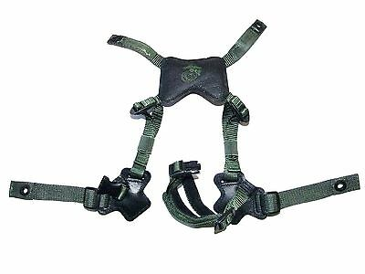 Gentex LWH ACH MICH XHarne Upgrade Chin Strap Green Med/Large 8470-01-549-1035
