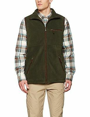 Tatton Fleece Gilet - ERROR:N/A - SF-MBW-2806-A-OOM - [ ] [Olive] [Medium] NEUF