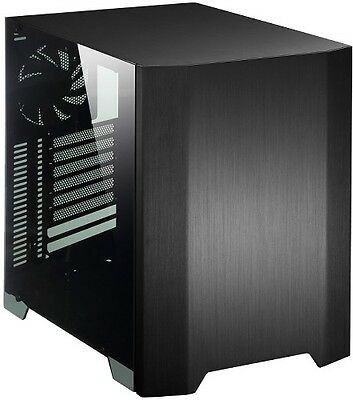NEW! Cooltek W2 Window Micro-ATX Aluminium Case Black