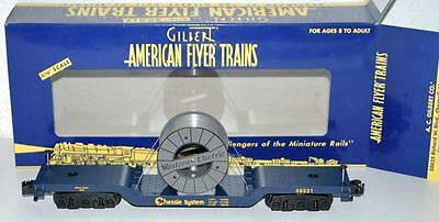 American Flyer 6-48531 Chessie System Cable Reel center Flat Western Electric S