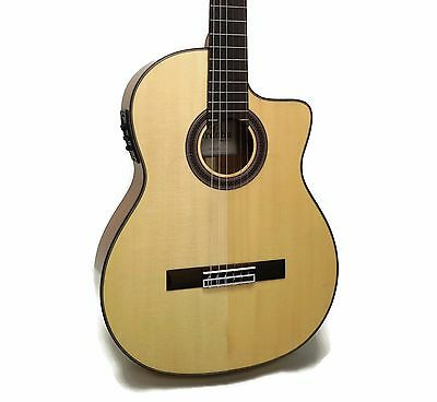 Cordoba GK Studio Flamenco Nylon String Acoustic-Electric Guitar w/ Gig Bag