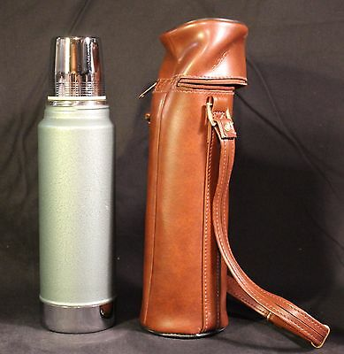 Aladdin Stanley Thermos A9411C Steel Sportsmaster Outing Kit '70s Vinyl Case Box