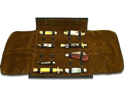 SAFE AND SOUND GEAR Folding 12 Knife Collection Protection Storage Carrying Case