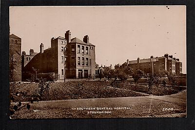 Stourbridge - 1st. Southern General Hospital - real photographic postcard