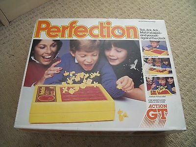 """Vintage Boxed """" Perfection """" Game By Action Gt 1980 Complete Spares Repairs"""