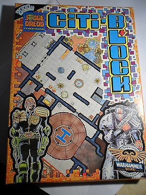 Judge Dredd Miniature Game Citadel Citiblock Floor plans Warhammer 40k