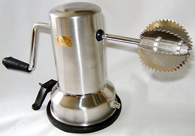 New Vacuum Based Coconut Scraper Shredder Grater Stainless Steel Boxed
