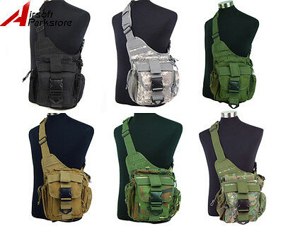 Tactical Military Molle Utility Shoulder Bag Backpack Camping Hiking Sport Pouch