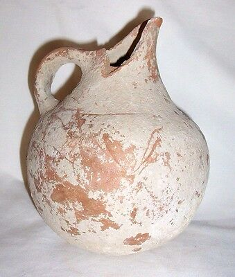 Large Greek spouted Jug c. 7th - 6th century B.C. (rim shard missing)