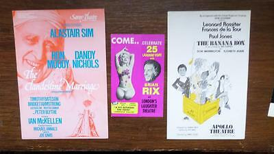 collection of London Flyers Lot of 12 some rare star names Lot T3