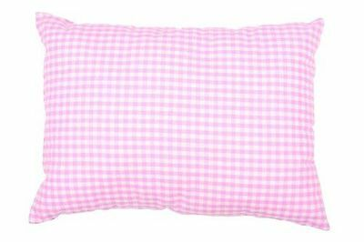 Dr. Junghans Medical - Coussin Coussin, 20x [16225] [Blanc/rose/carreaux] NEUF