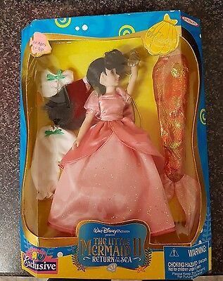 Jakks Pacific Disney Melody Doll Little Mermaid 2 Return to the Sea Highly rare.