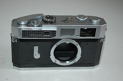 Canon-7 Vintage Japanese Rangefinder Camera. Serviced. 917825. UK Sale