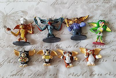 Full set Appluase Gremlins figurines. Gremlins 2. rare Mohawk brain gizmo gretta
