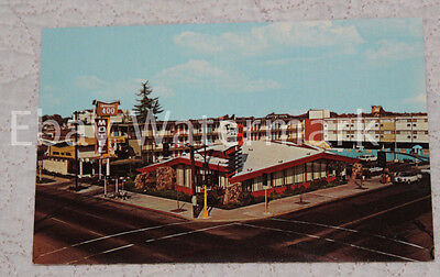 SACRAMENTO CALIFORNIA CA Imperial 400 Motel Vintage Chrome Postcard