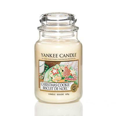 Yankee Candle Christmas Cookie Grosses Glas 623 g